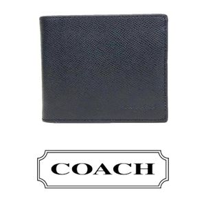COACH LEATHER WALLET WITH MINI CASE INSERT. NWOT